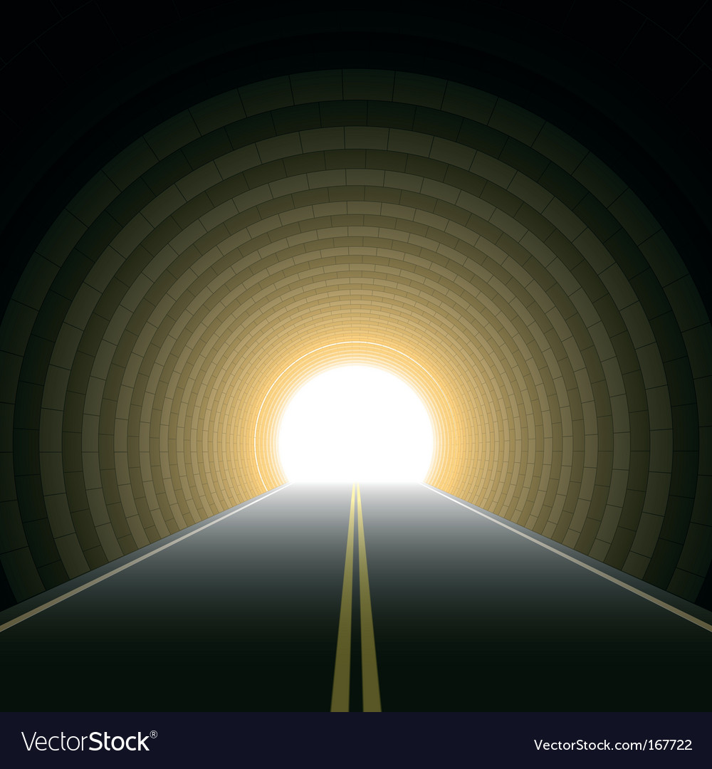 Car tunnel vector | Price: 1 Credit (USD $1)