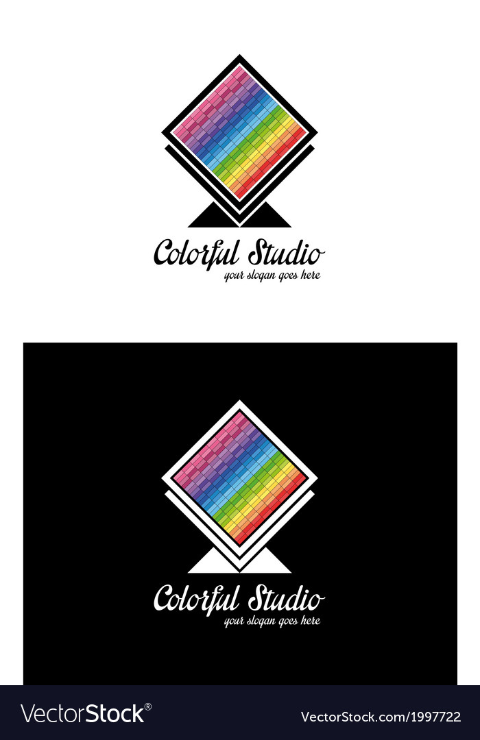 Colorful creative logo template vector | Price: 1 Credit (USD $1)