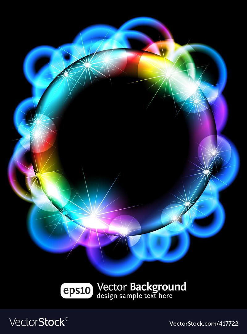 Neon light gradient effect vector | Price: 1 Credit (USD $1)
