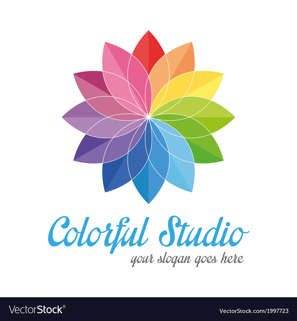 Colorful creative logo vector | Price: 1 Credit (USD $1)