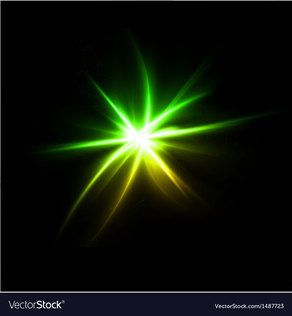 Lens flare effect background vector | Price: 1 Credit (USD $1)