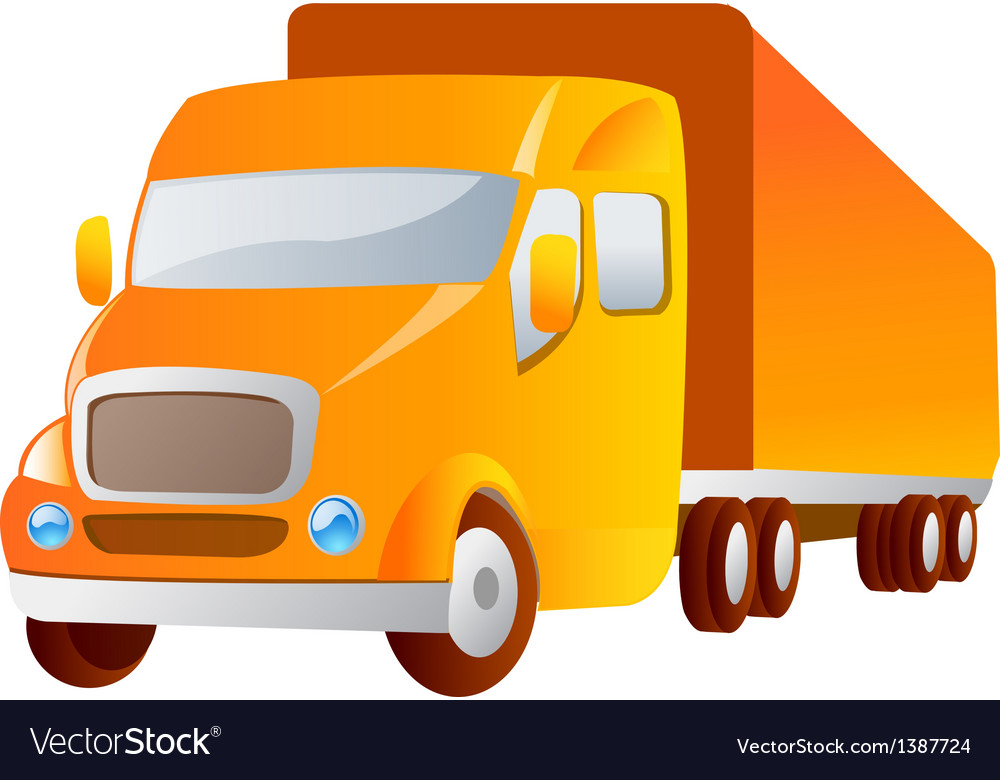 Icon truck vector | Price: 1 Credit (USD $1)