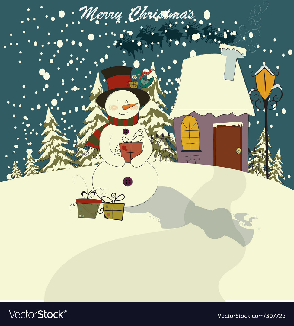 Season greetings vector | Price: 1 Credit (USD $1)