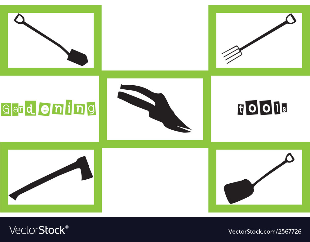 Garden tool vector | Price: 1 Credit (USD $1)