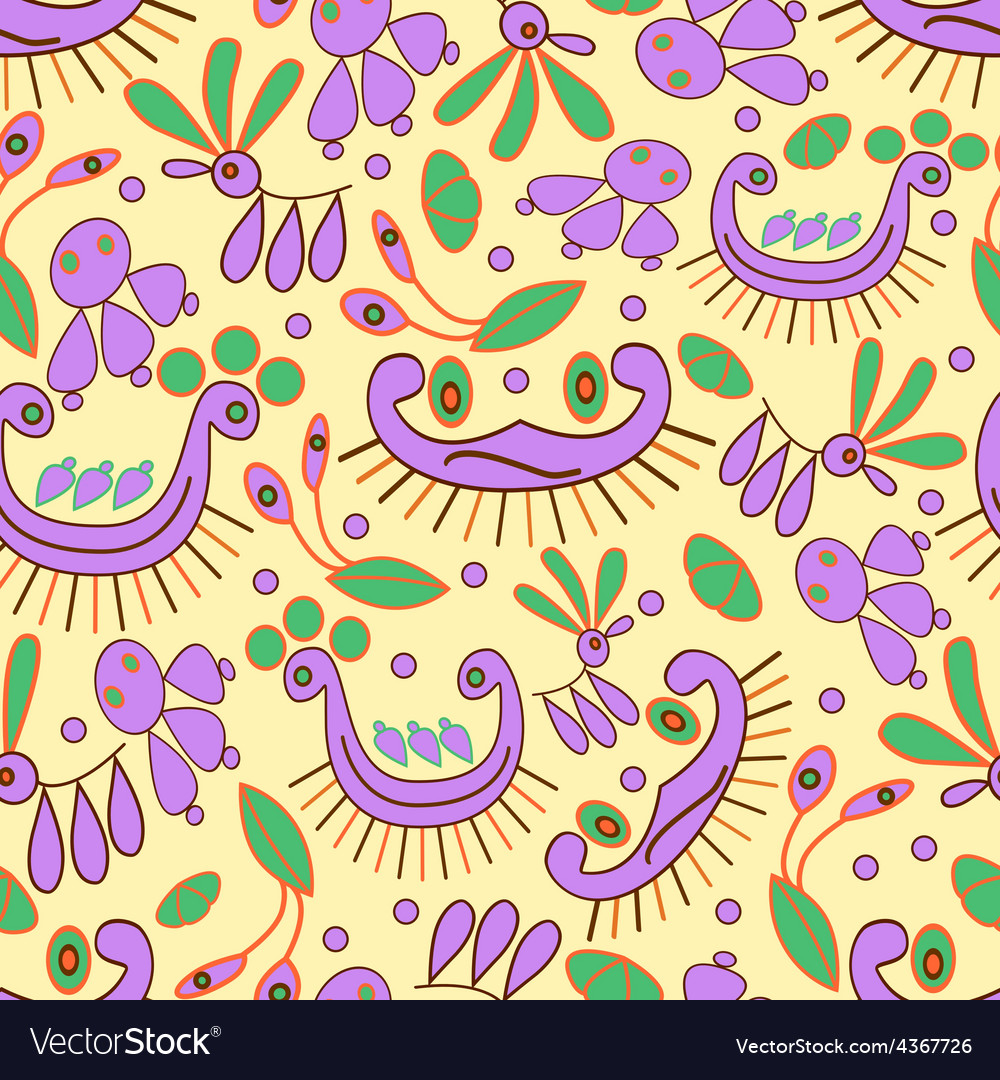 Seamless colorful and fun background vector | Price: 1 Credit (USD $1)