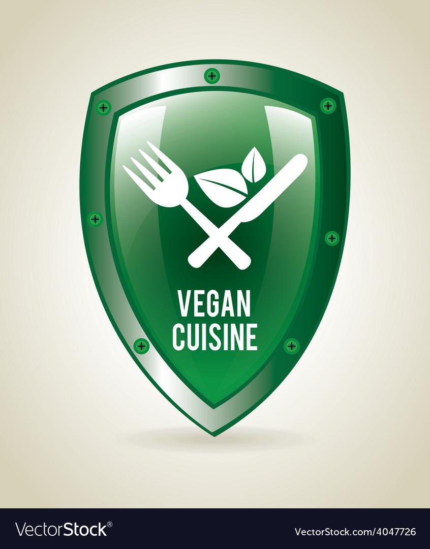 Vegan food vector | Price: 1 Credit (USD $1)