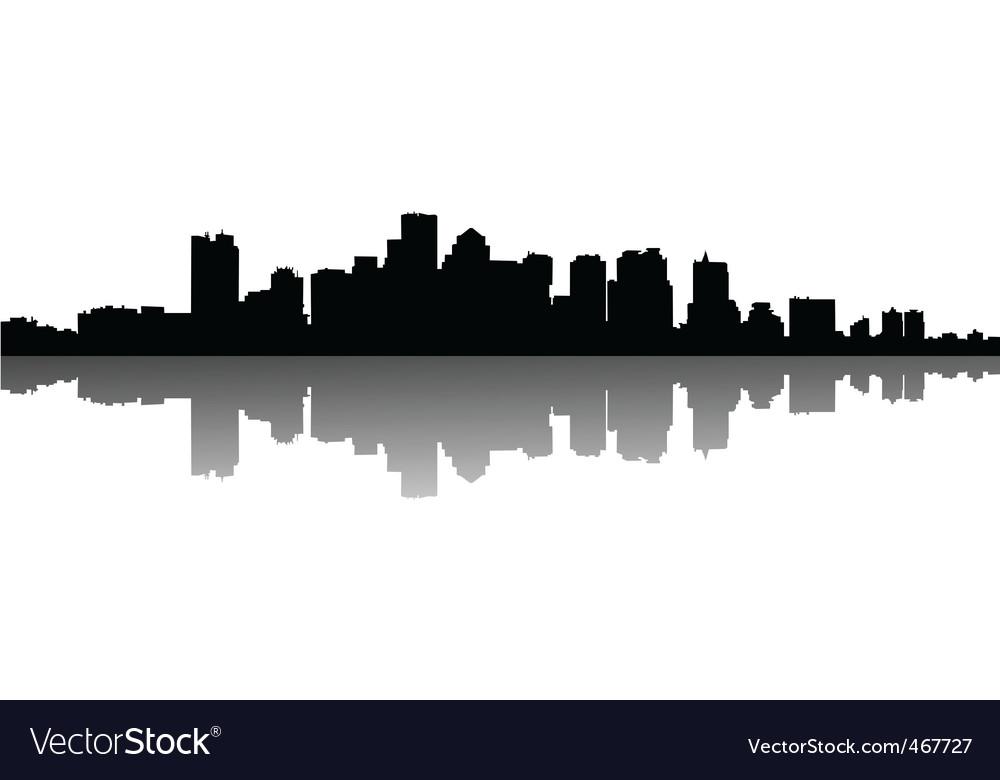 Cityscape vector | Price: 1 Credit (USD $1)