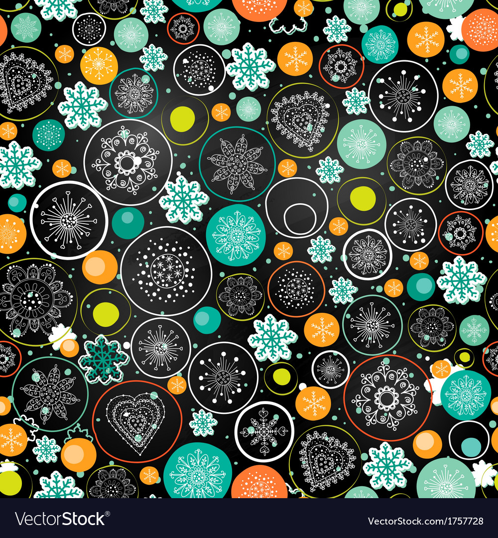 Christmas background with the xmas ball vector | Price: 1 Credit (USD $1)