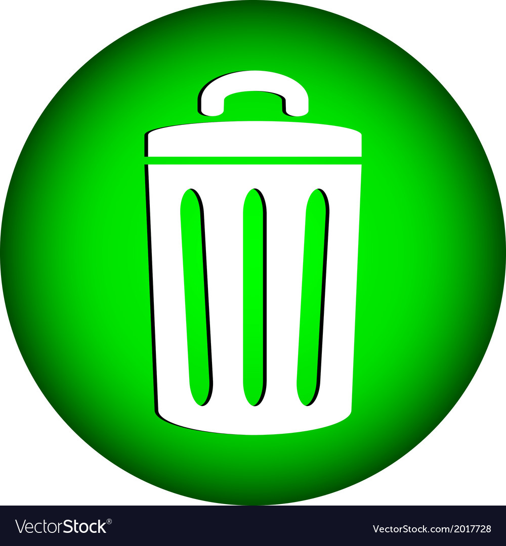 Garbage icon vector | Price: 1 Credit (USD $1)