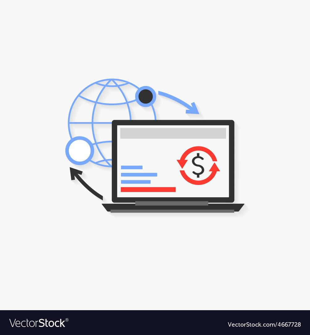 Online marketing vector | Price: 1 Credit (USD $1)