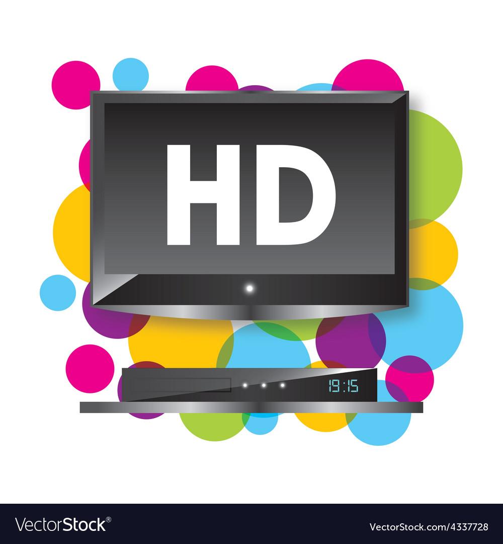 Tv hd vector | Price: 1 Credit (USD $1)