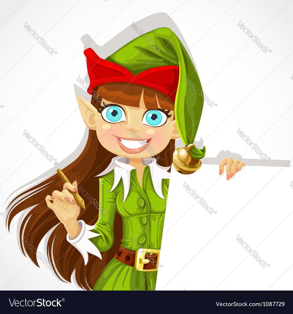 Christmas elf vector | Price: 3 Credit (USD $3)