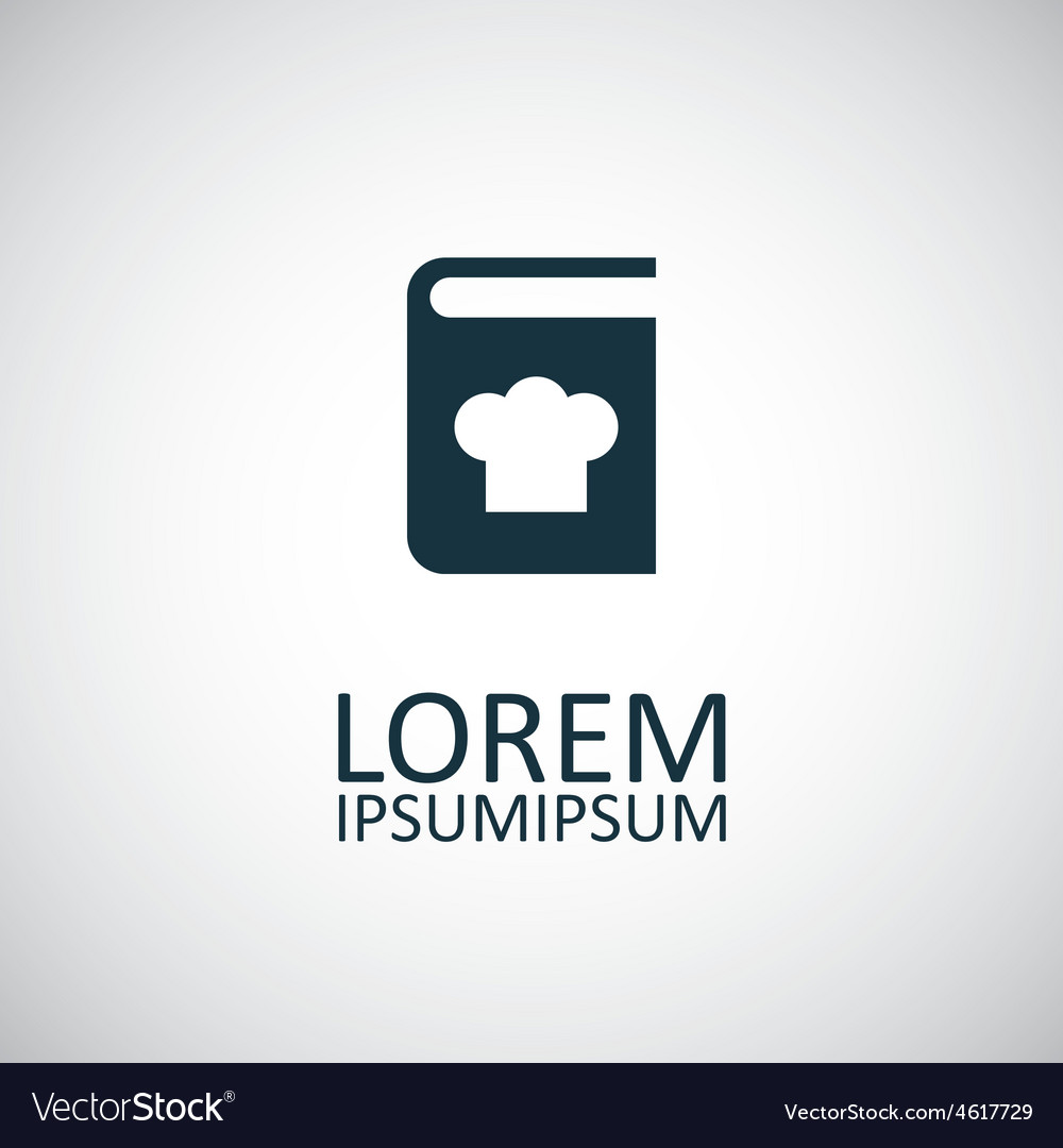 Cooking book icon vector | Price: 1 Credit (USD $1)