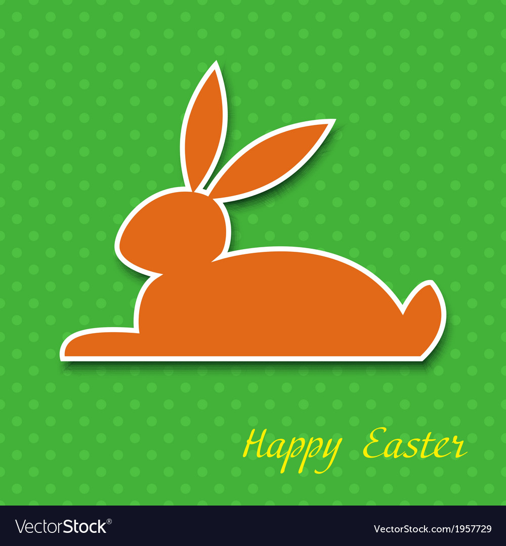 Easter greeting card eps10 vector   Price: 1 Credit (USD $1)