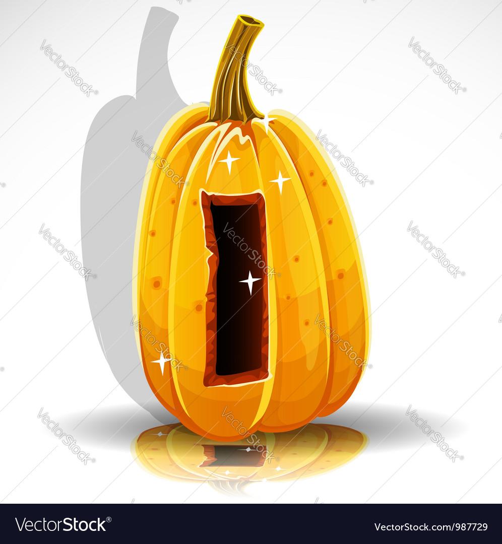 Halloween pumpkin i vector | Price: 1 Credit (USD $1)