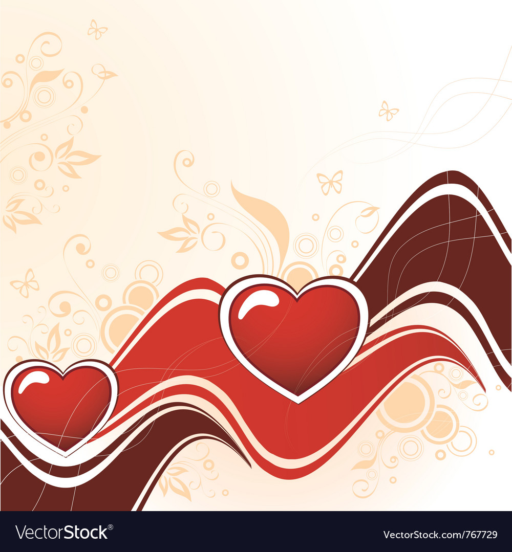 Heart abstract vector | Price: 1 Credit (USD $1)