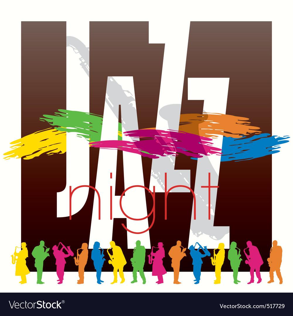 Jazz poster 02 vector | Price: 1 Credit (USD $1)