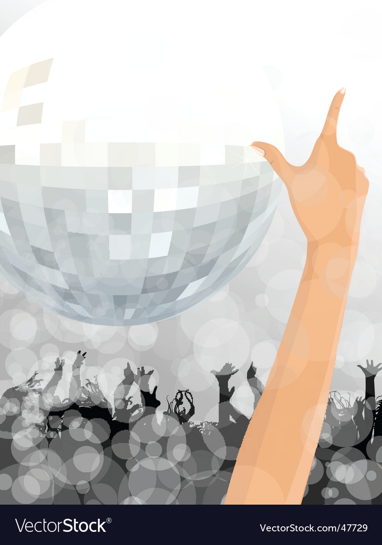 Night club scene vector | Price: 1 Credit (USD $1)