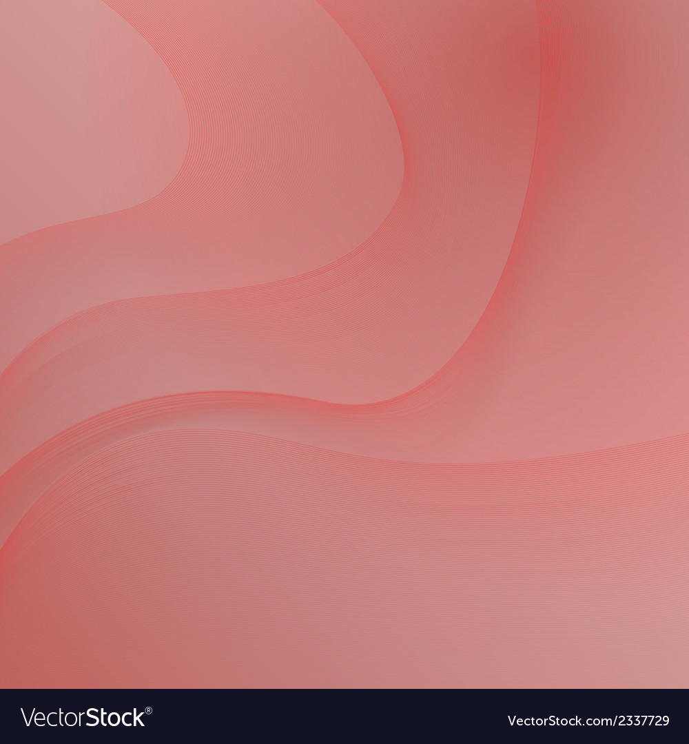 Red background with waves vector | Price: 1 Credit (USD $1)
