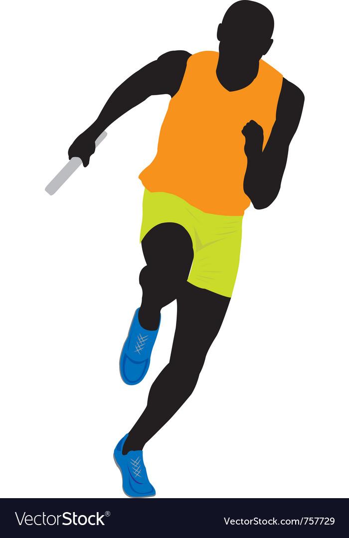 Runner vector | Price: 1 Credit (USD $1)