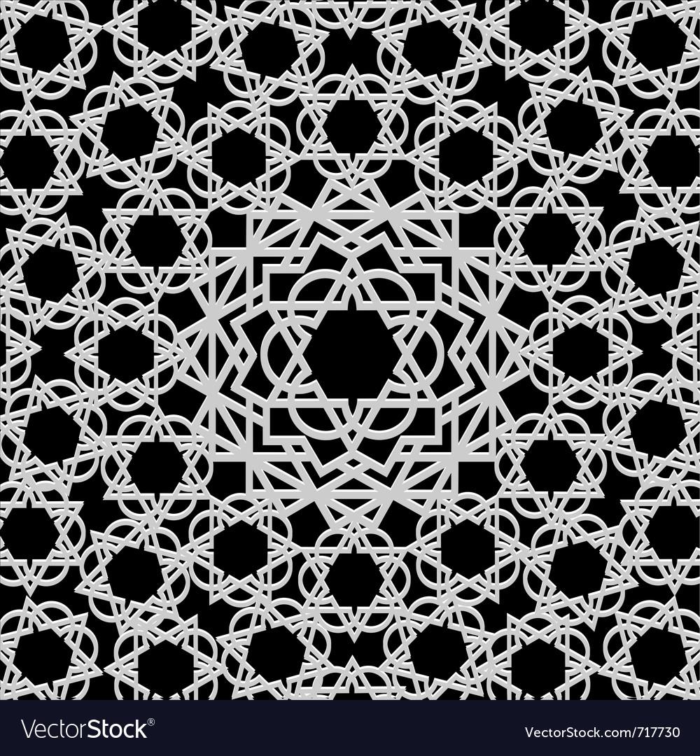 Arabic geometric pattern vector | Price: 1 Credit (USD $1)