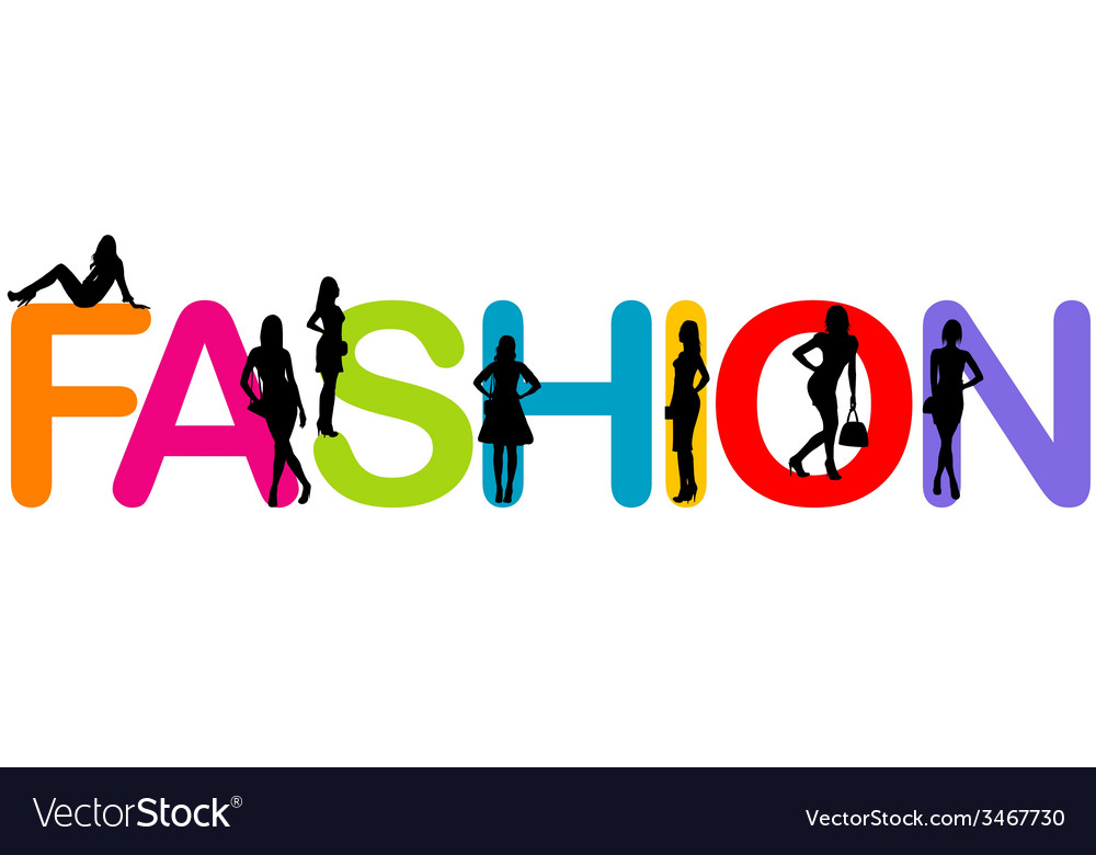 Fashion background with sexy women silhouettes vector | Price: 1 Credit (USD $1)