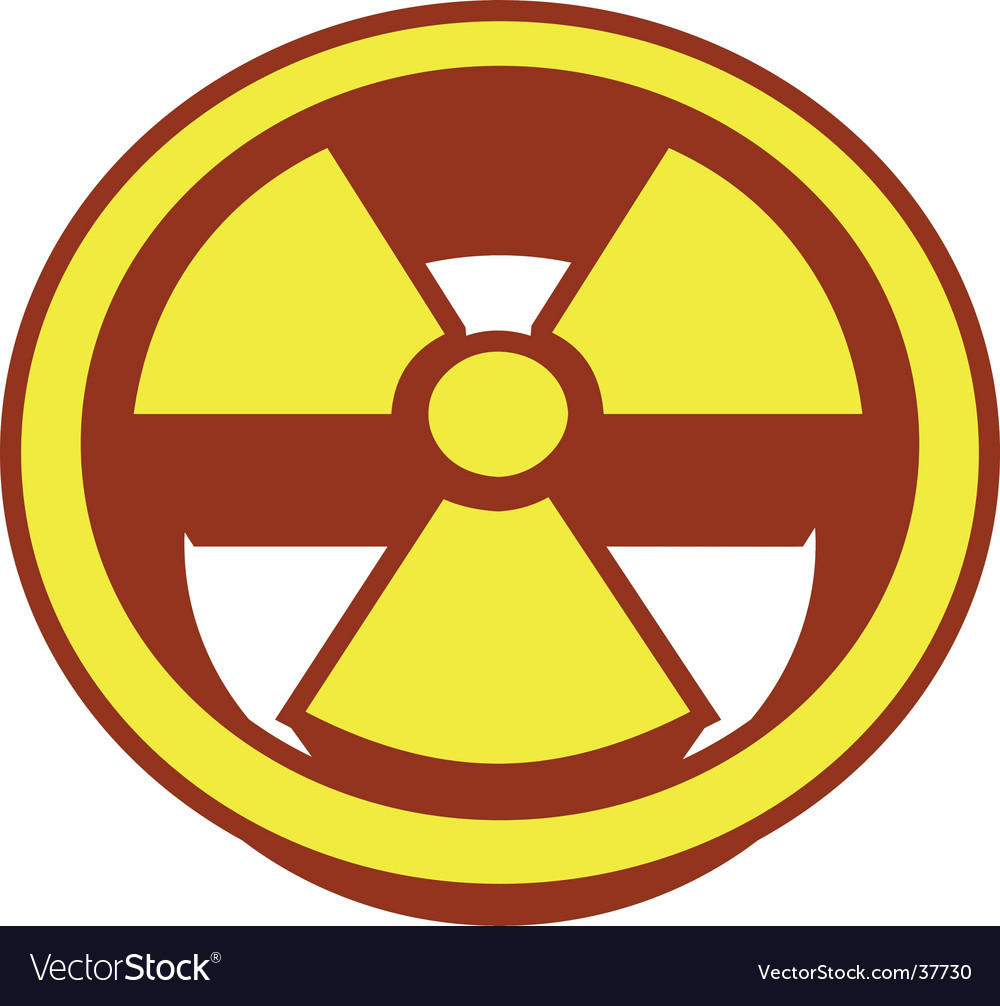 Radioactive symbol vector | Price: 1 Credit (USD $1)