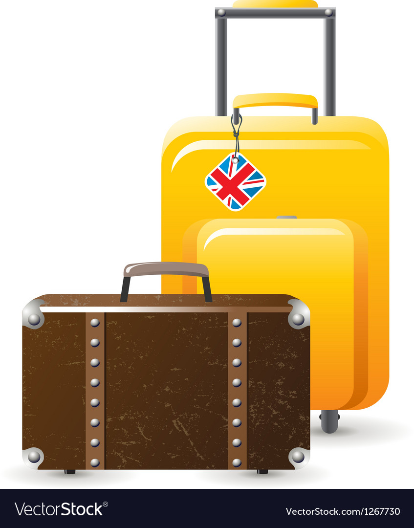 Suitcases vector | Price: 3 Credit (USD $3)