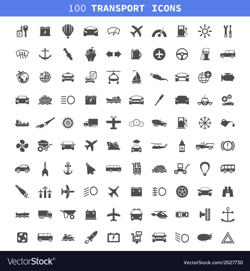 Transport icons7 vector | Price: 1 Credit (USD $1)