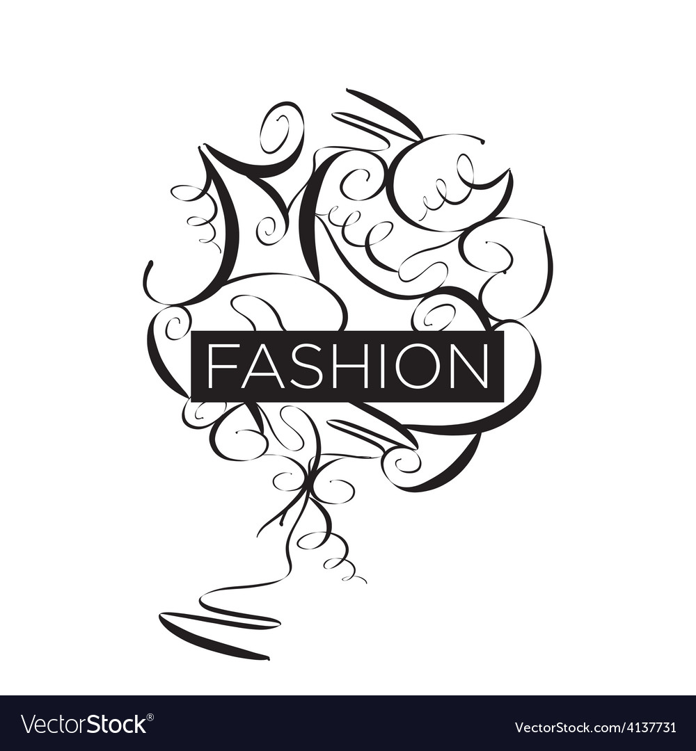 Abstract logo fashion patterns vector | Price: 1 Credit (USD $1)