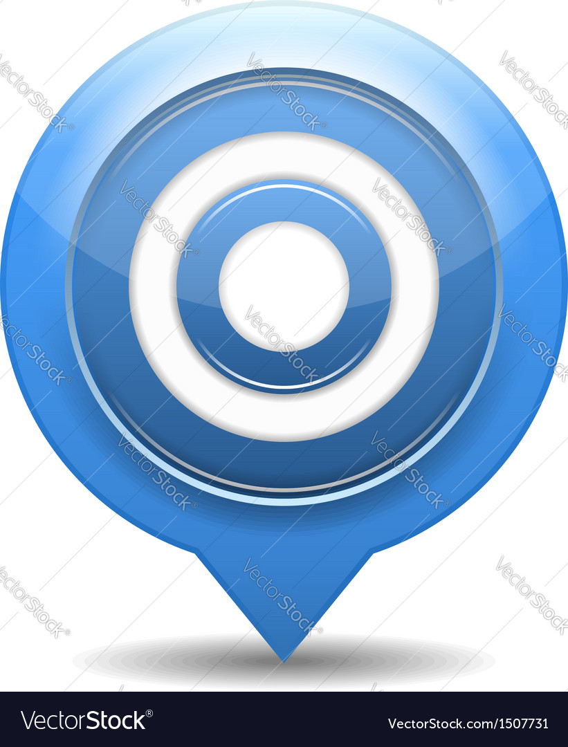 Blue target vector   Price: 1 Credit (USD $1)