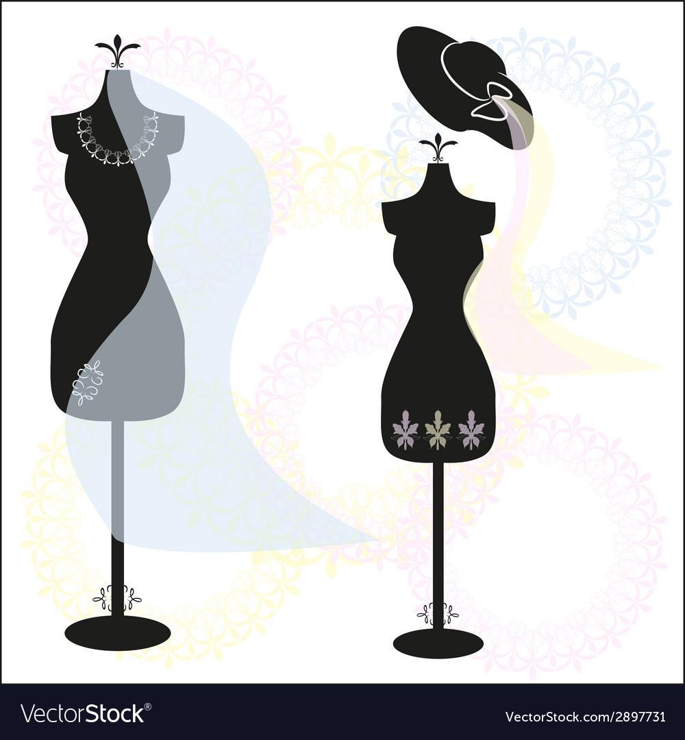 Mannequins vector | Price: 1 Credit (USD $1)