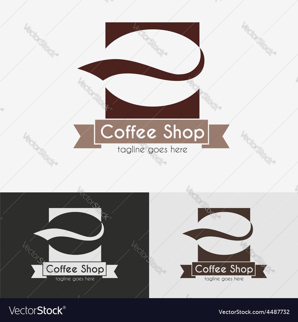 Coffee shop logo vector | Price: 3 Credit (USD $3)