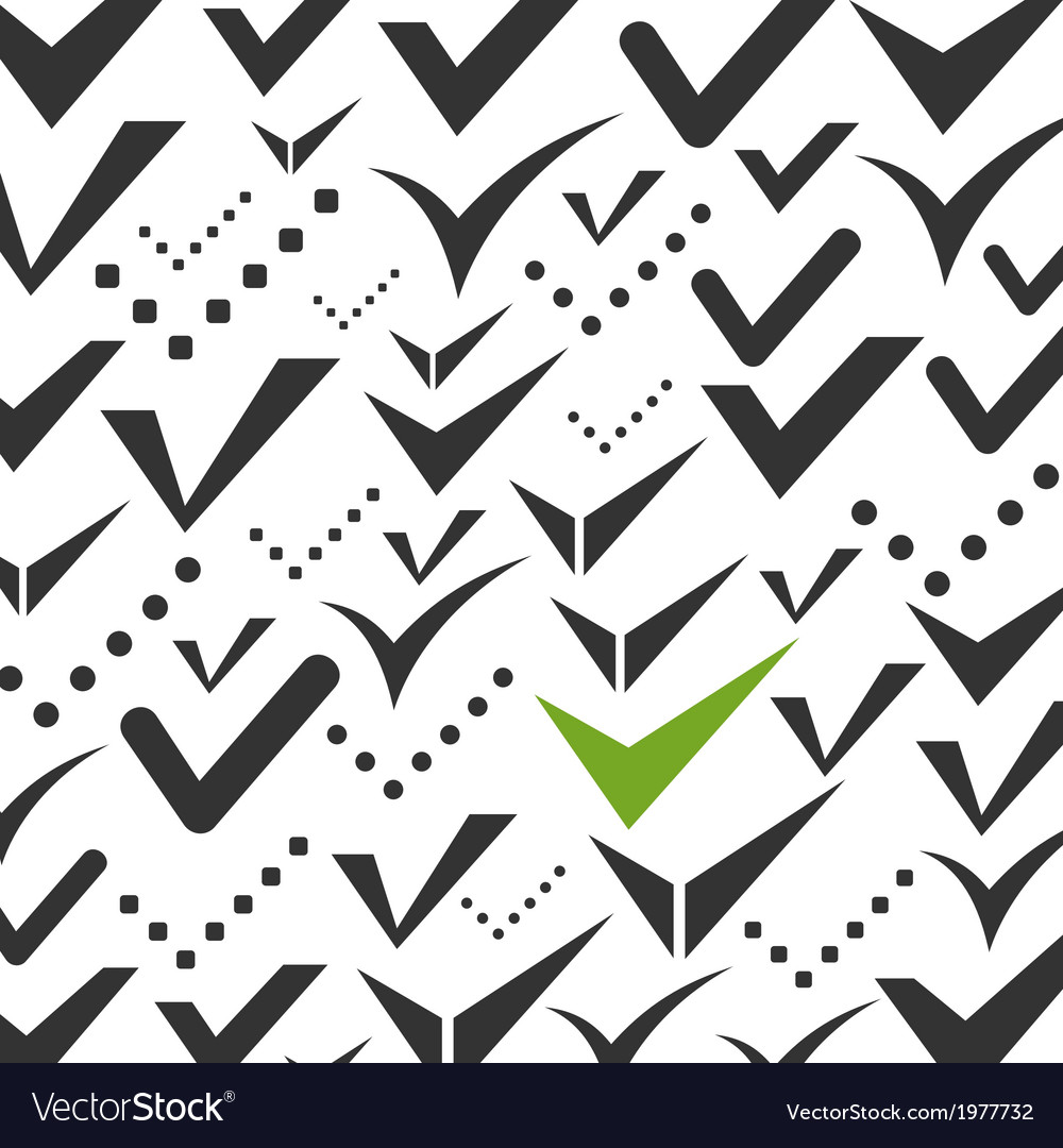 Tick a background vector | Price: 1 Credit (USD $1)