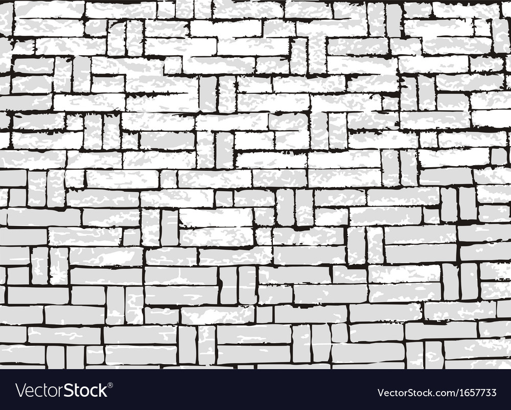 New brick wall of negative space vector | Price: 1 Credit (USD $1)