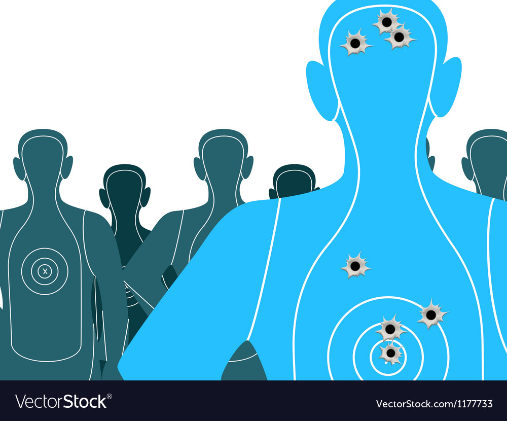 Shooting targets vector | Price: 1 Credit (USD $1)