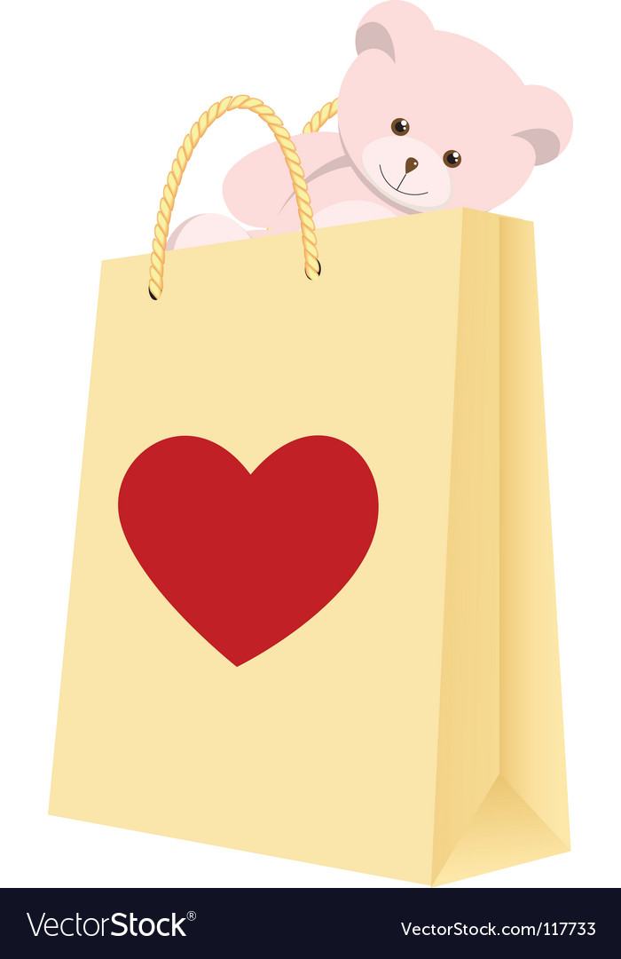 Valentines day gift vector | Price: 1 Credit (USD $1)