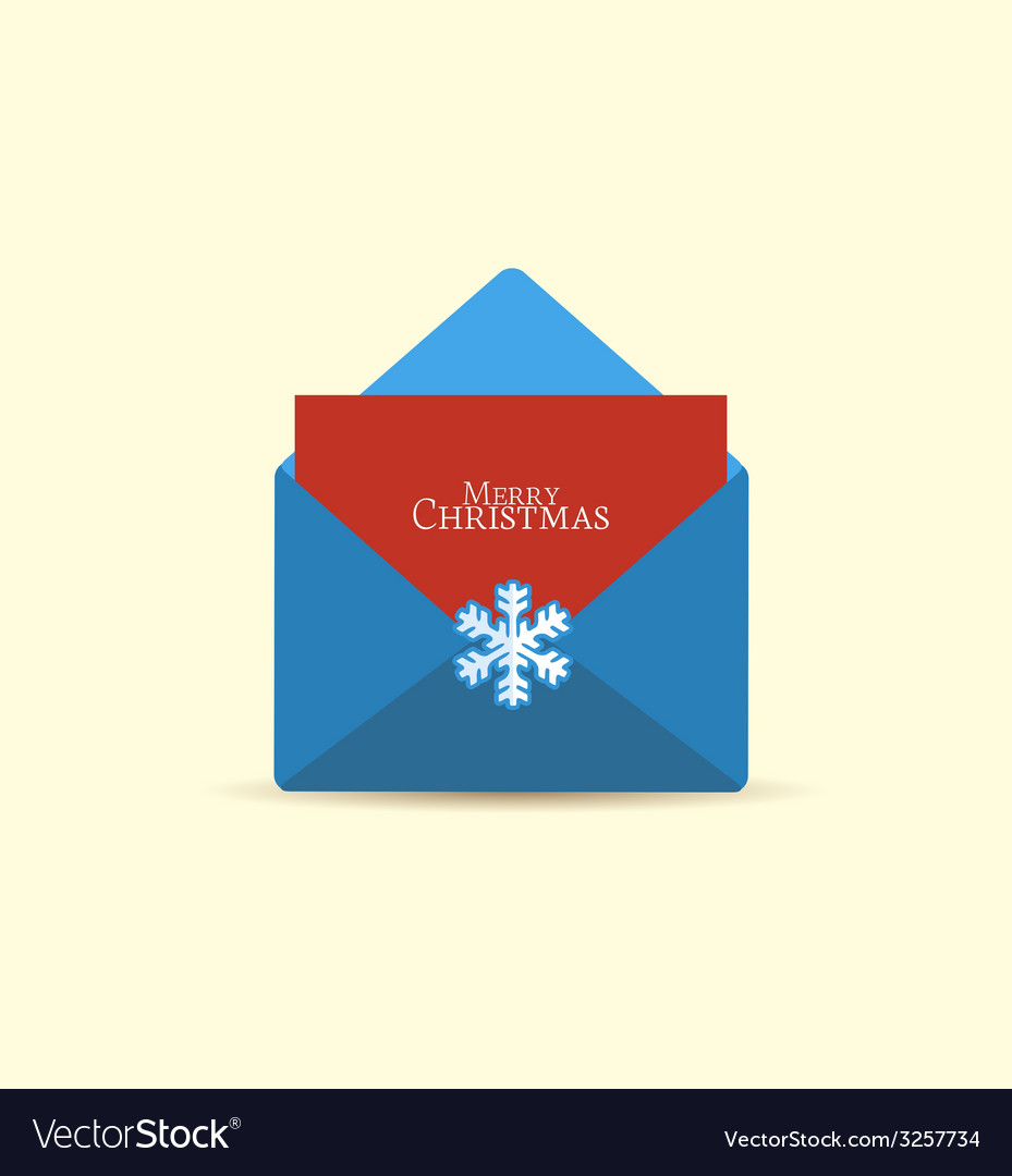 Retro envelope vector | Price: 1 Credit (USD $1)