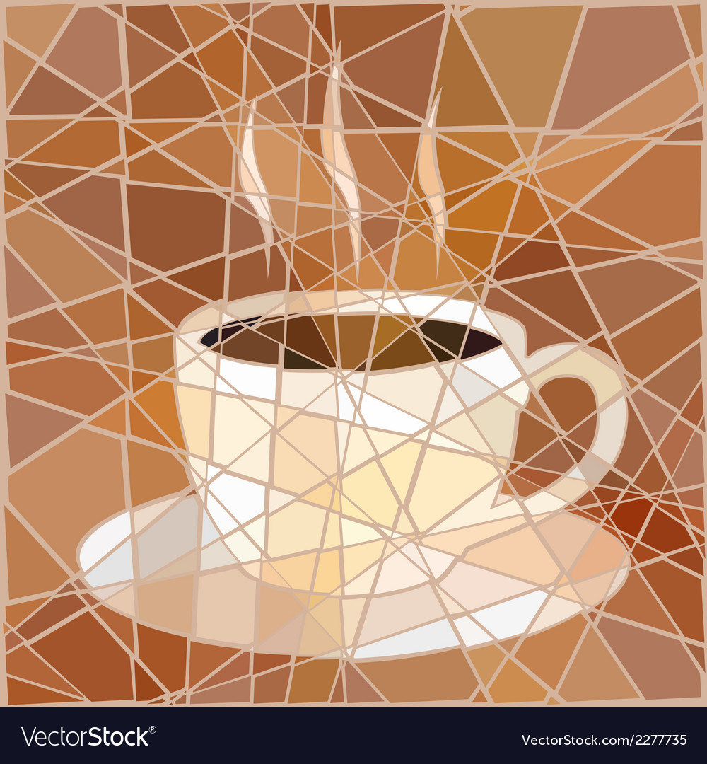 Coffee mosaic vector | Price: 1 Credit (USD $1)