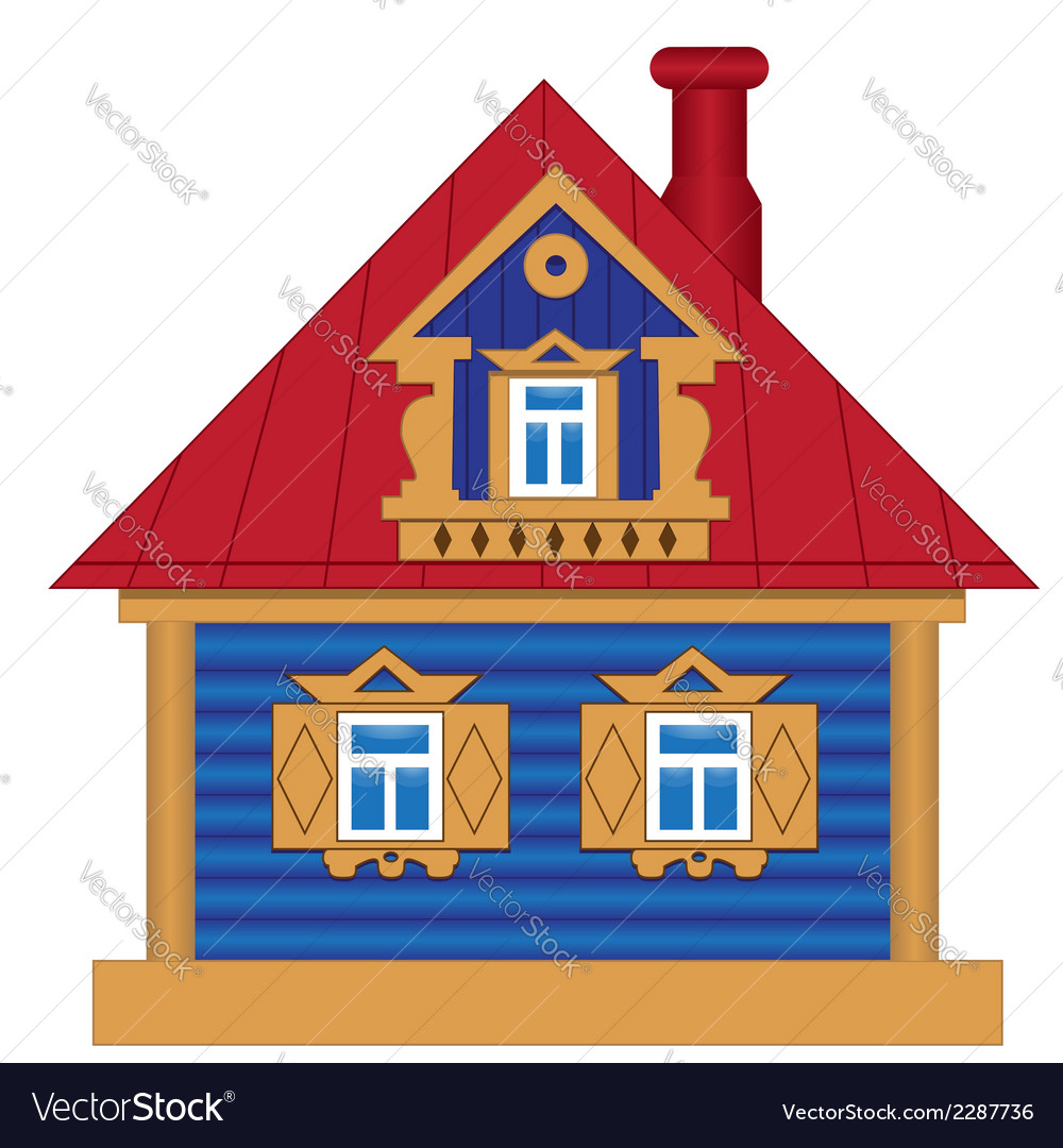 A toy house vector | Price: 1 Credit (USD $1)