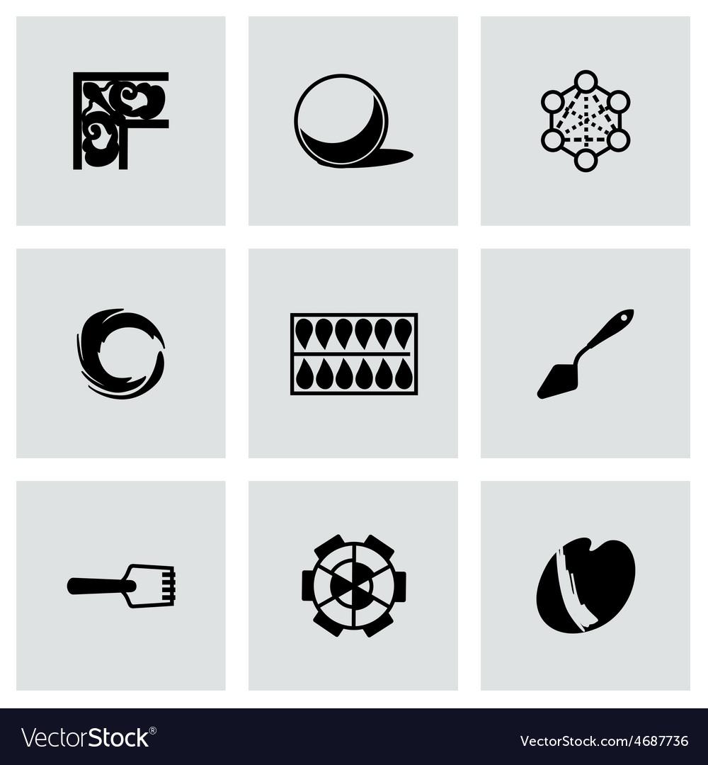 Art tool icon set vector   Price: 1 Credit (USD $1)