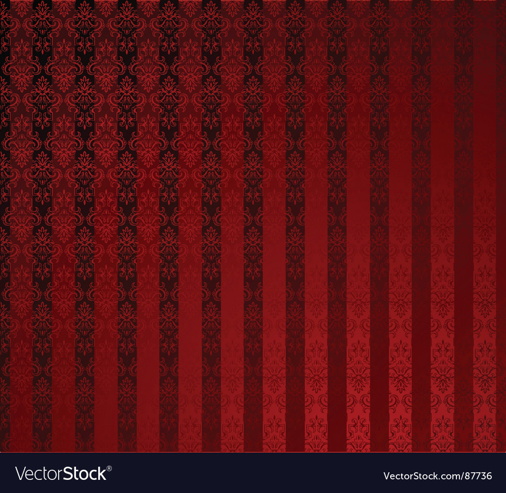 Red stripe wallpaper vector | Price: 1 Credit (USD $1)
