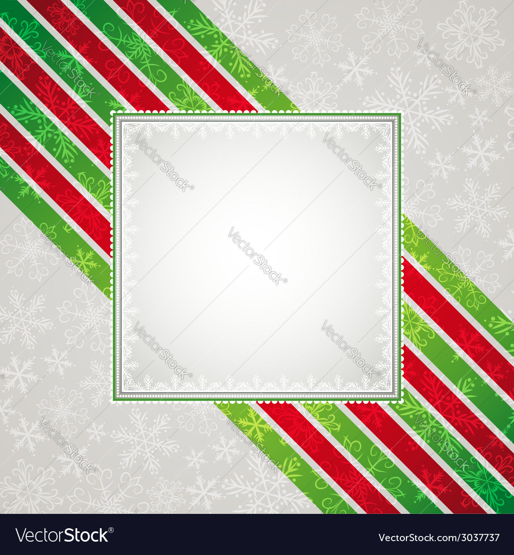 Color christmas background vector | Price: 1 Credit (USD $1)