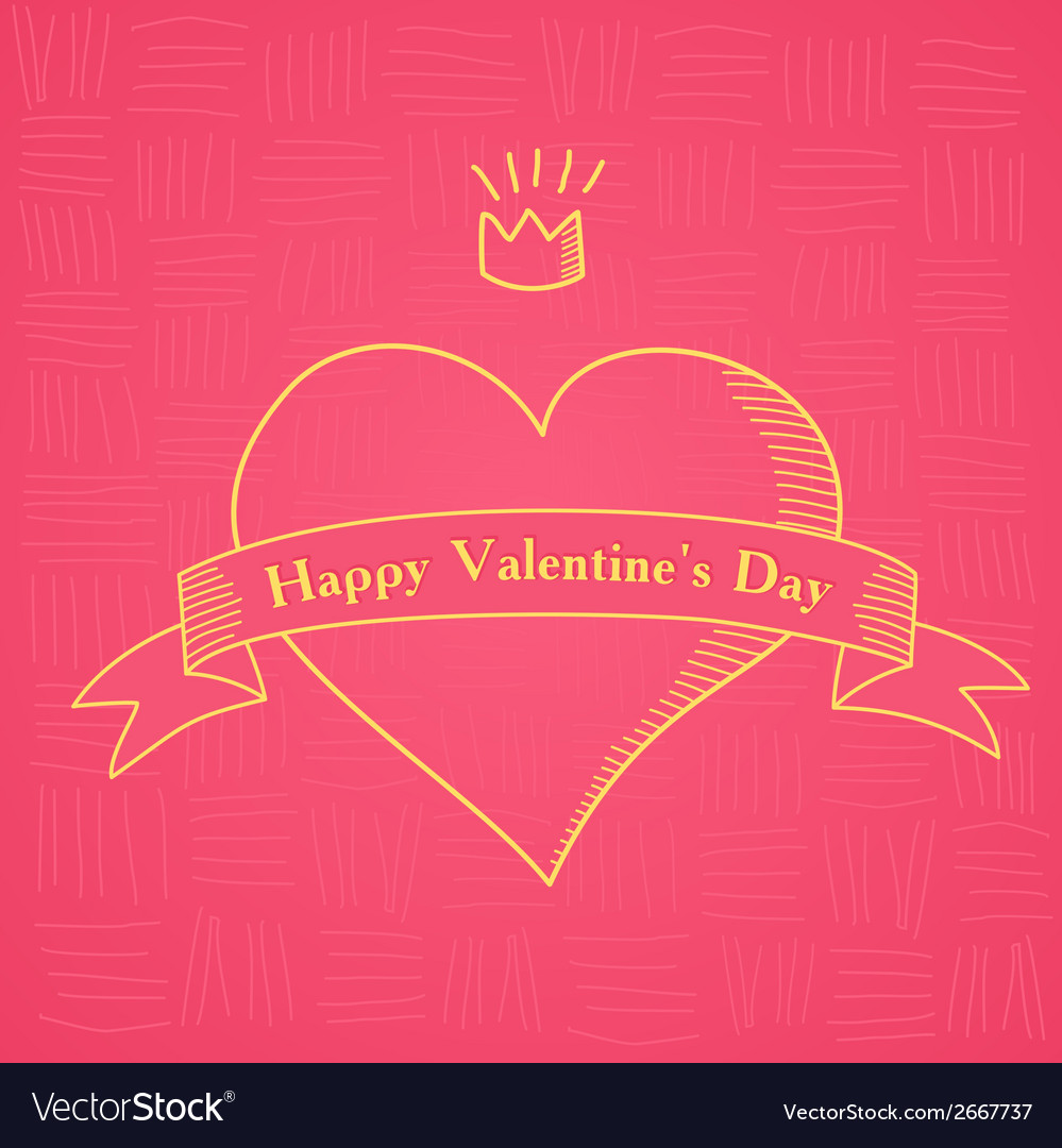Happy valentines day lettering vector   Price: 1 Credit (USD $1)