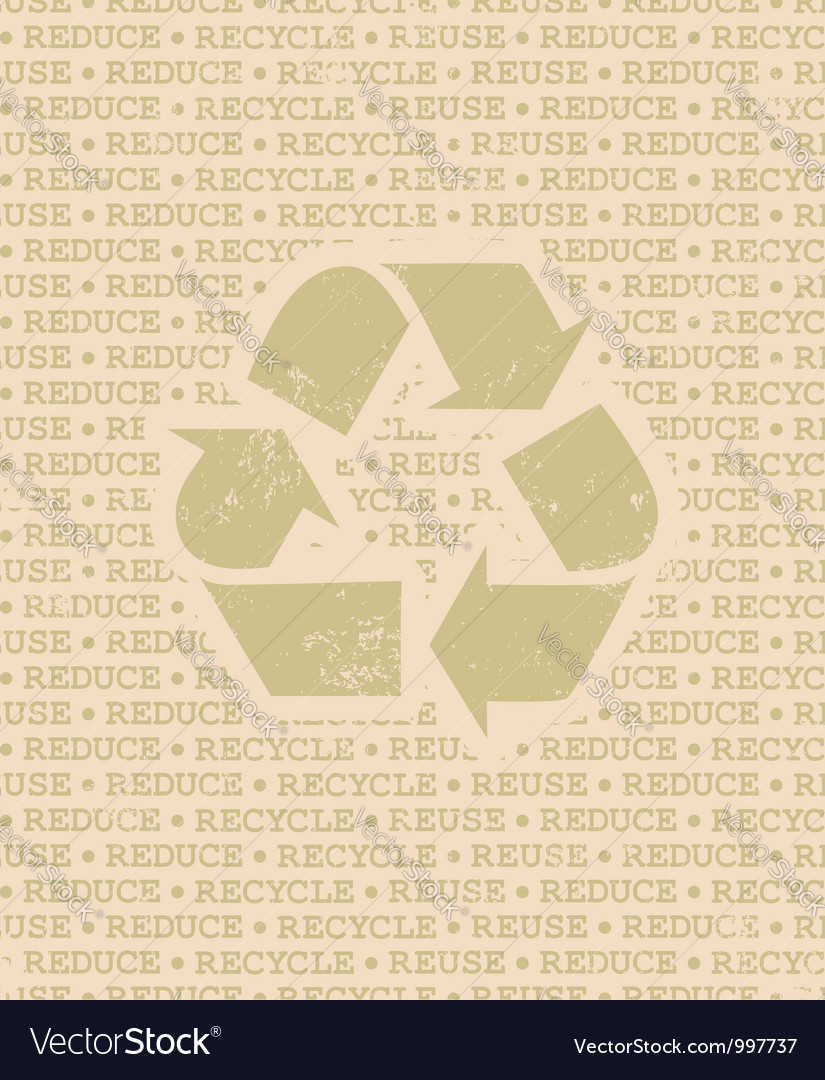 Recycle poster vector | Price: 1 Credit (USD $1)