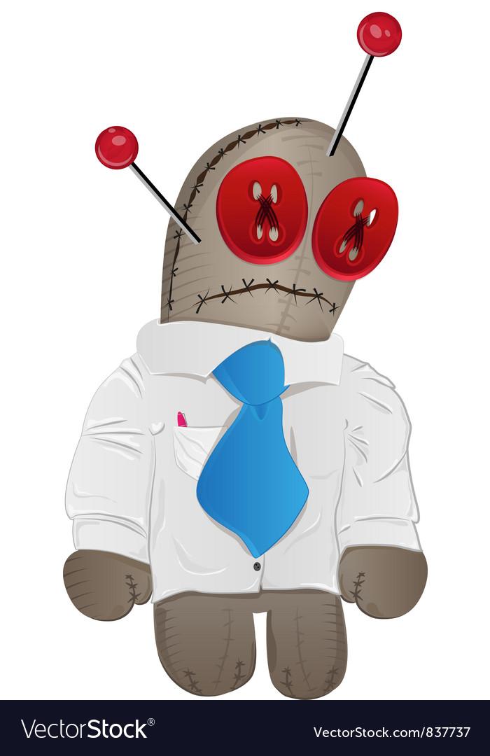 Voodoo doll vector | Price: 1 Credit (USD $1)