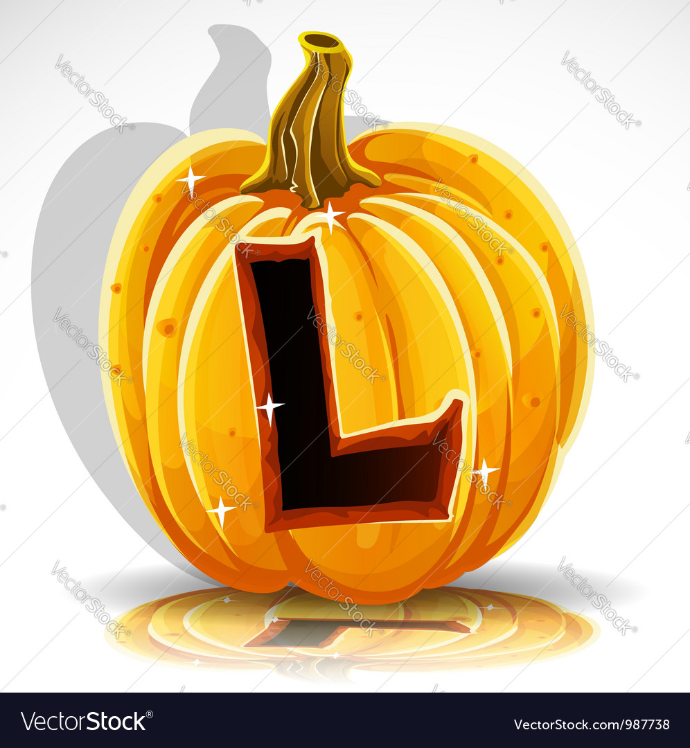 Halloween pumpkin l vector | Price: 1 Credit (USD $1)