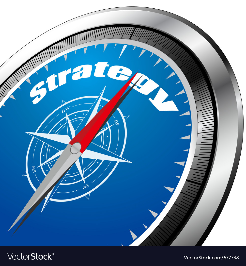 Strategy compass vector | Price: 1 Credit (USD $1)