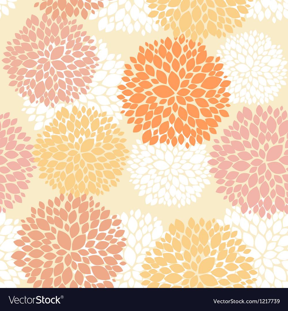 Cute unique floral autumn pattern vector | Price: 1 Credit (USD $1)
