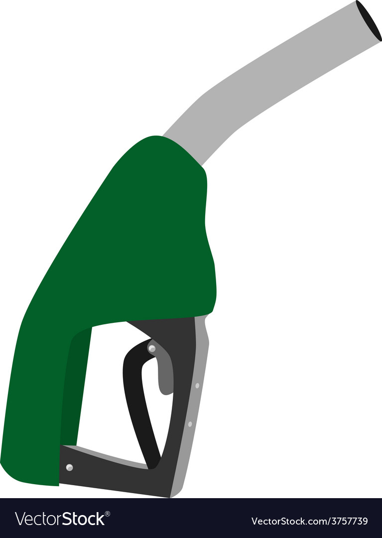 Green petroleum pump vector | Price: 1 Credit (USD $1)